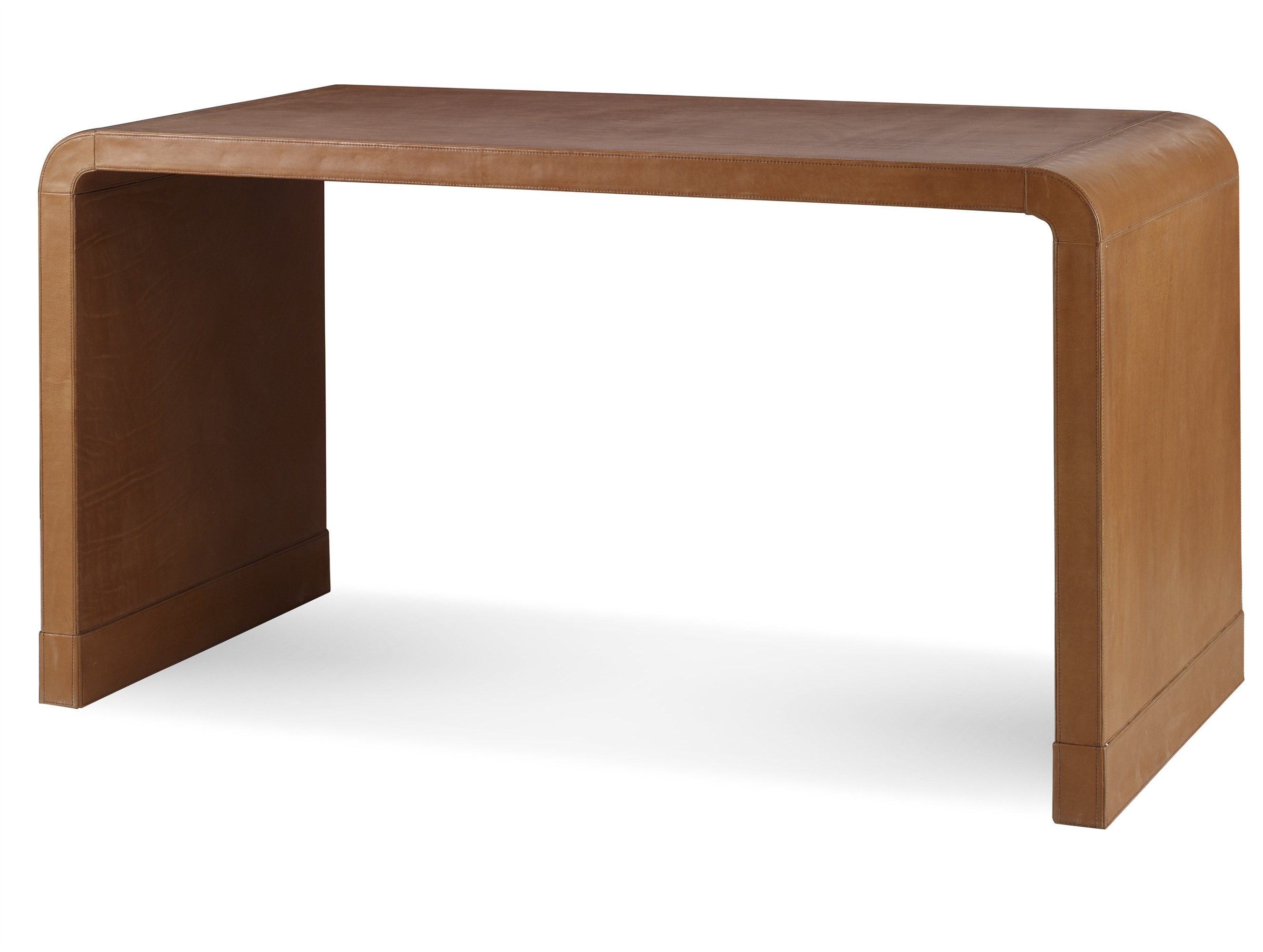 Maison '47 Leather Wrap Console Table