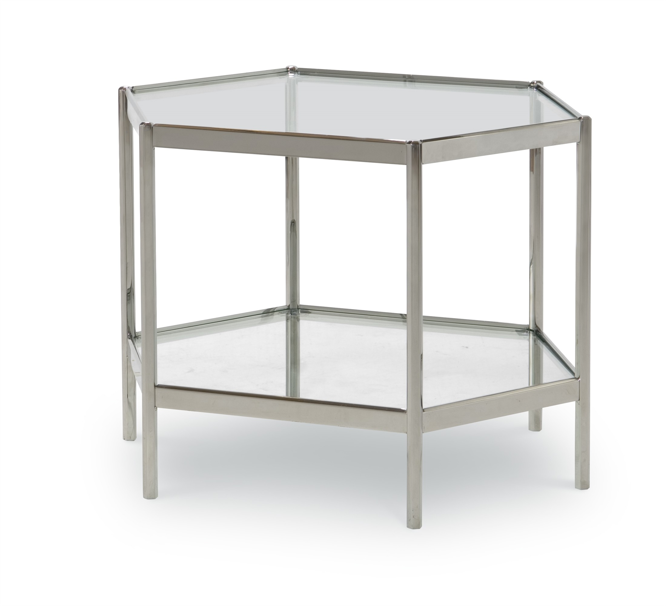 Dax Side Table With Glass Top