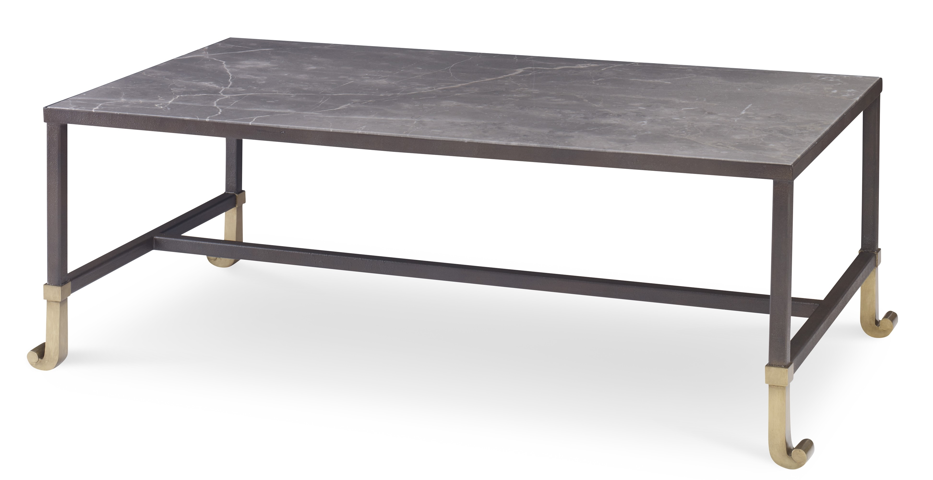 Calliope Cocktail Table With Stone Top