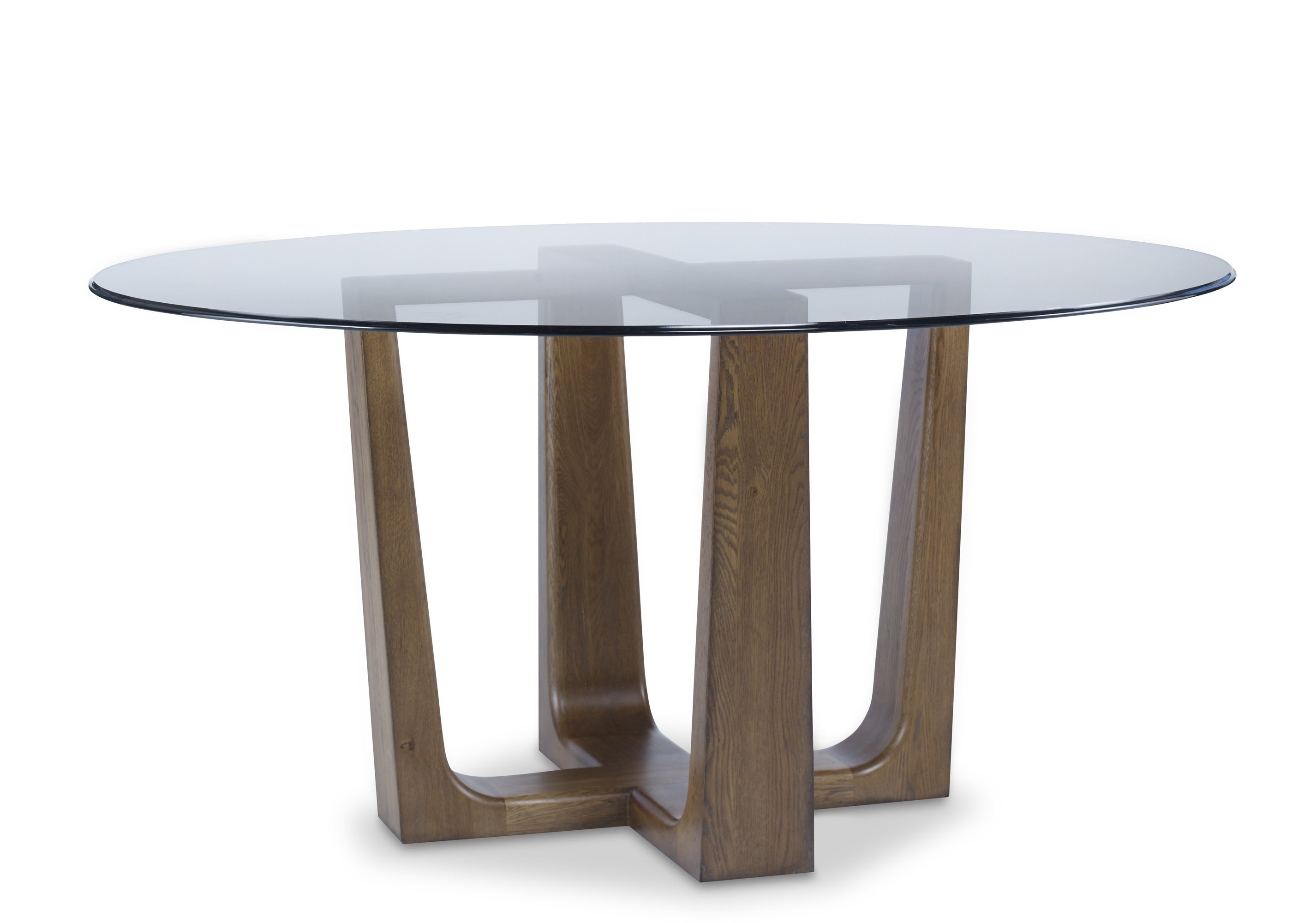 Bowery Place Dining Table With Glass Top