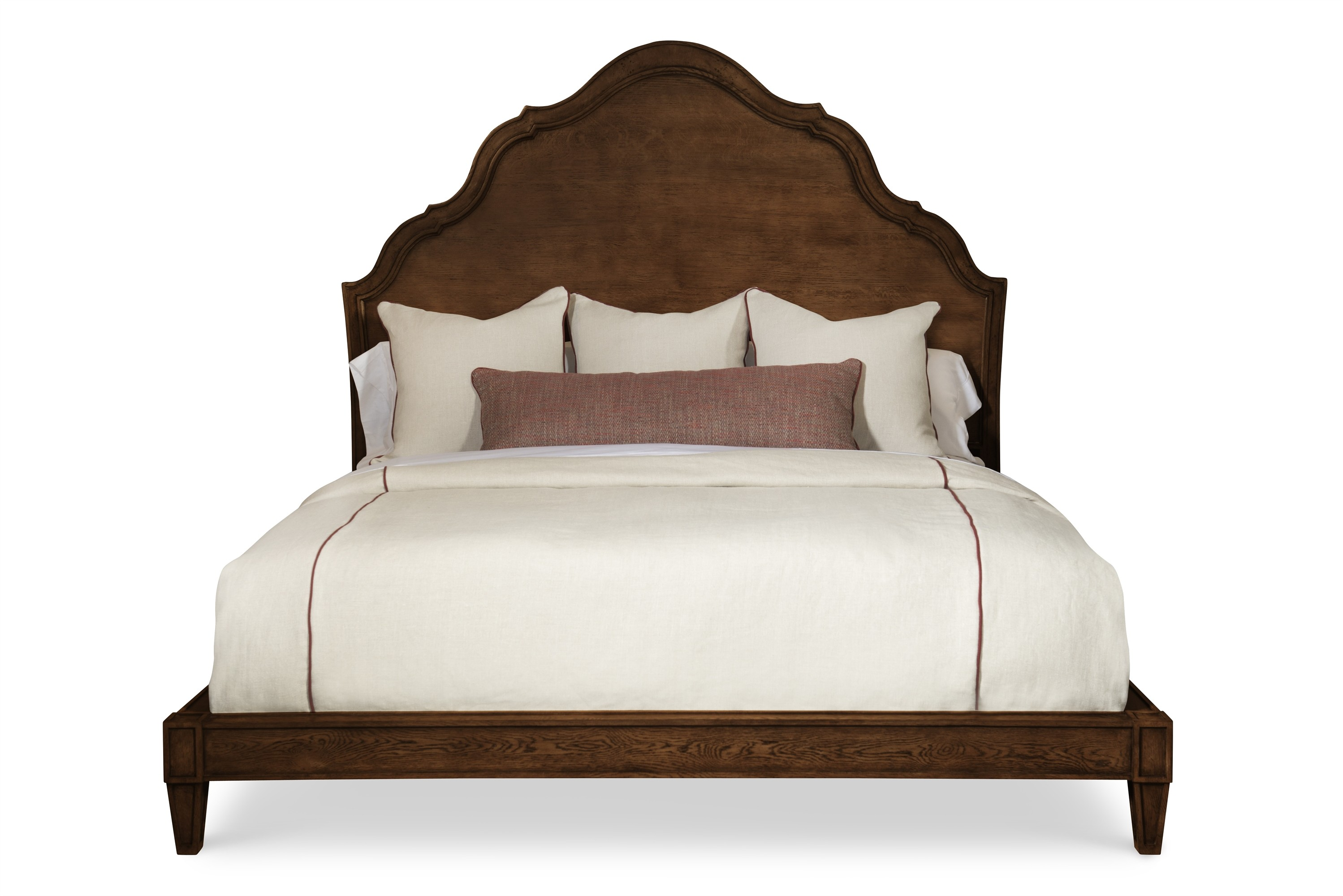 Casa Bella Carved Bed - King Size 6/6 - Sierra Finish