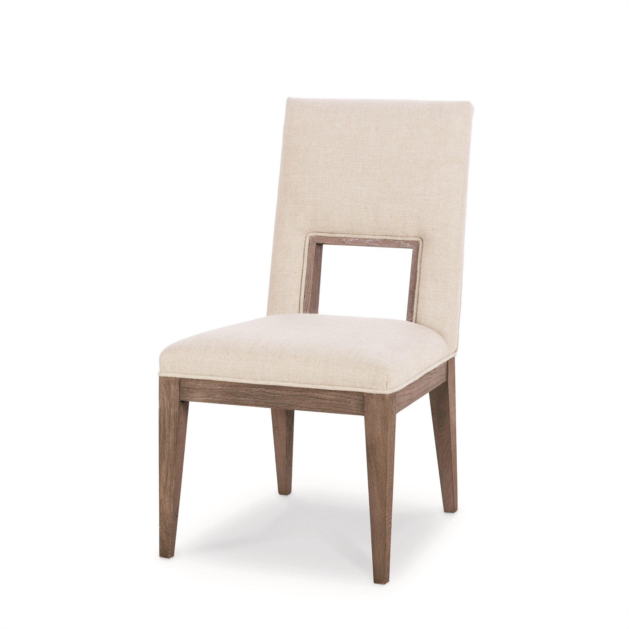 Casa Bella Upholstered Dining Side Chair - Timber Gray Finish