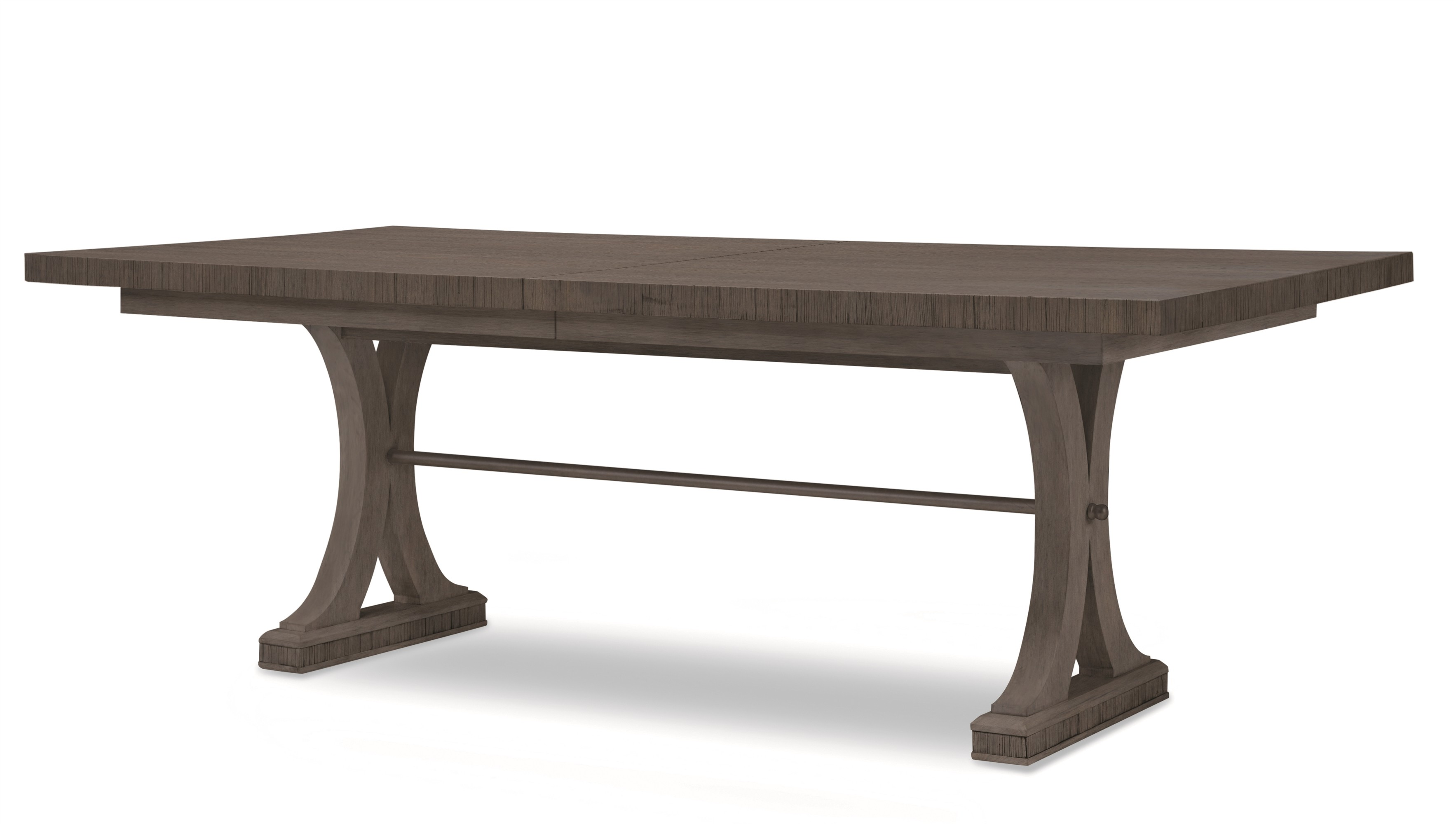 Carlyle Rectangular Dining Table-Mink Grey
