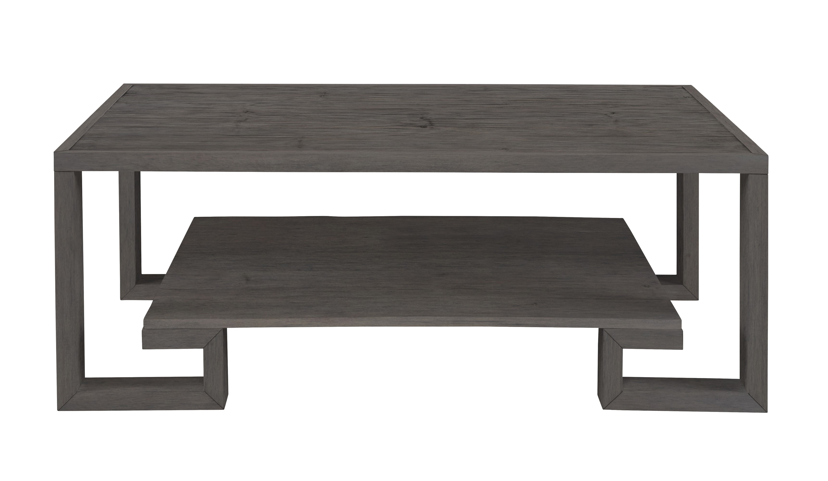 Greek Key Cocktail Table-Mink Grey