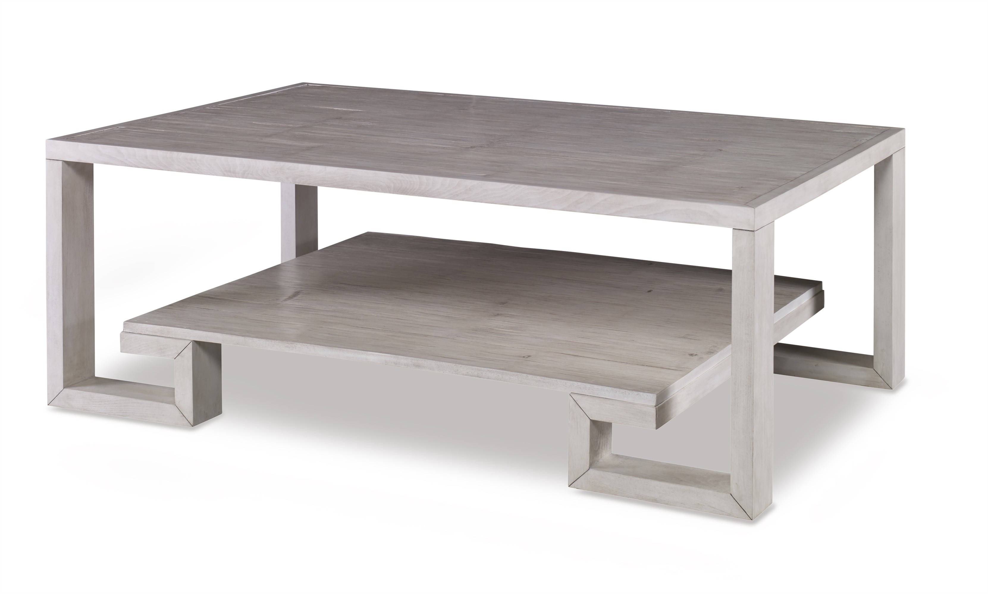 Greek Key Cocktail Table-Peninsula (Bb-250-105)