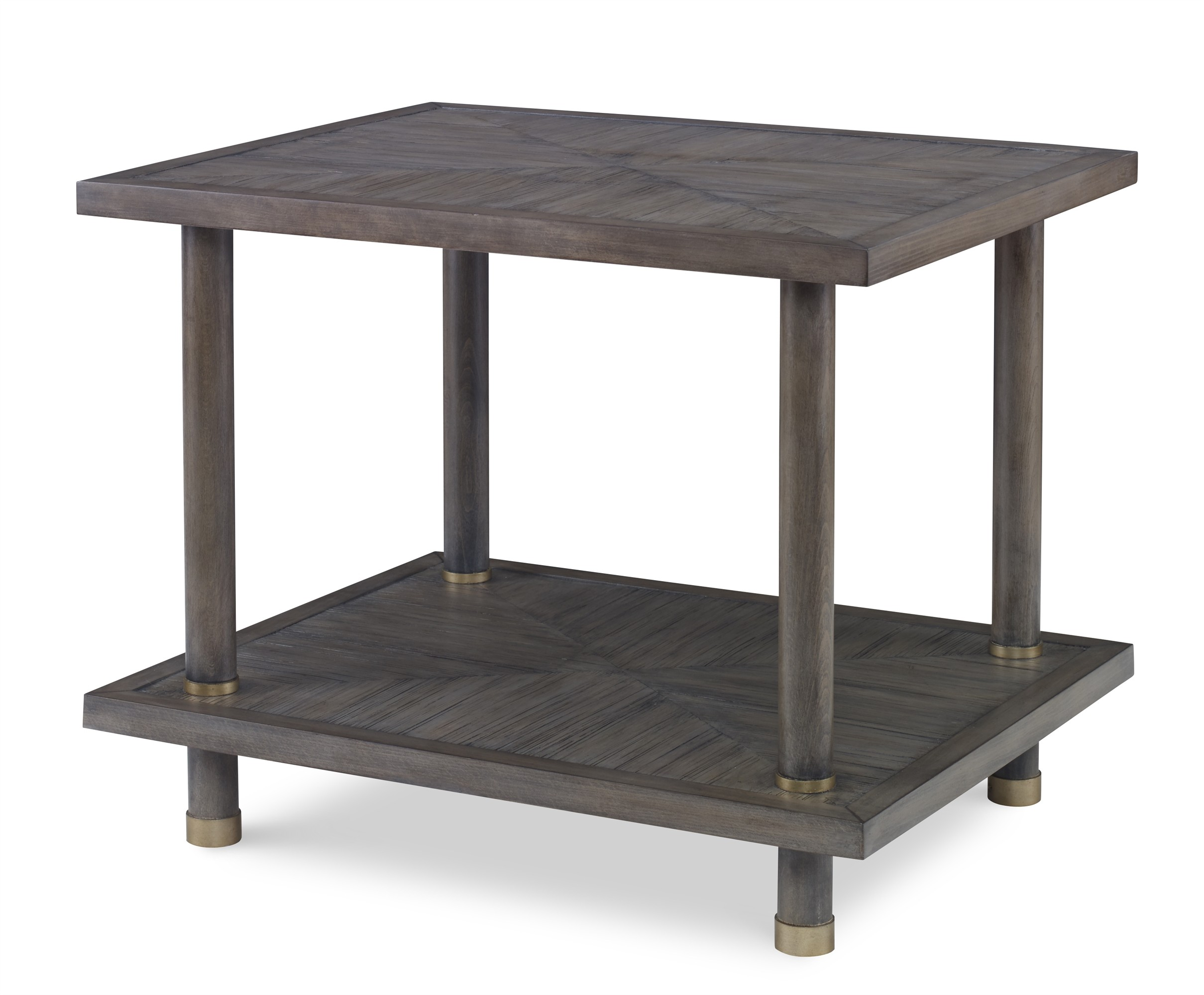 Biscayne Side Table-Mink Grey