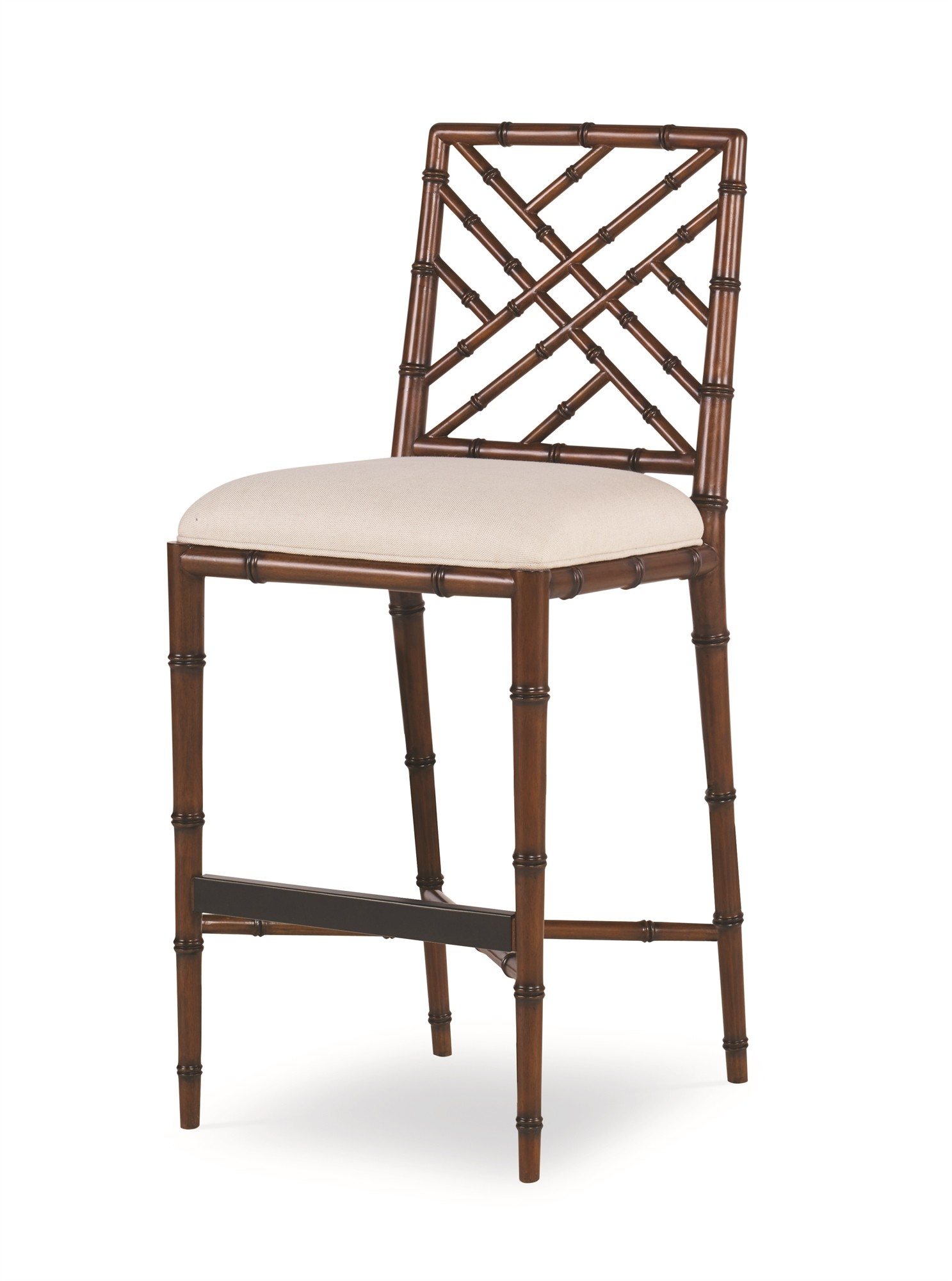 Brighton Bar Stool-Regency/Flax