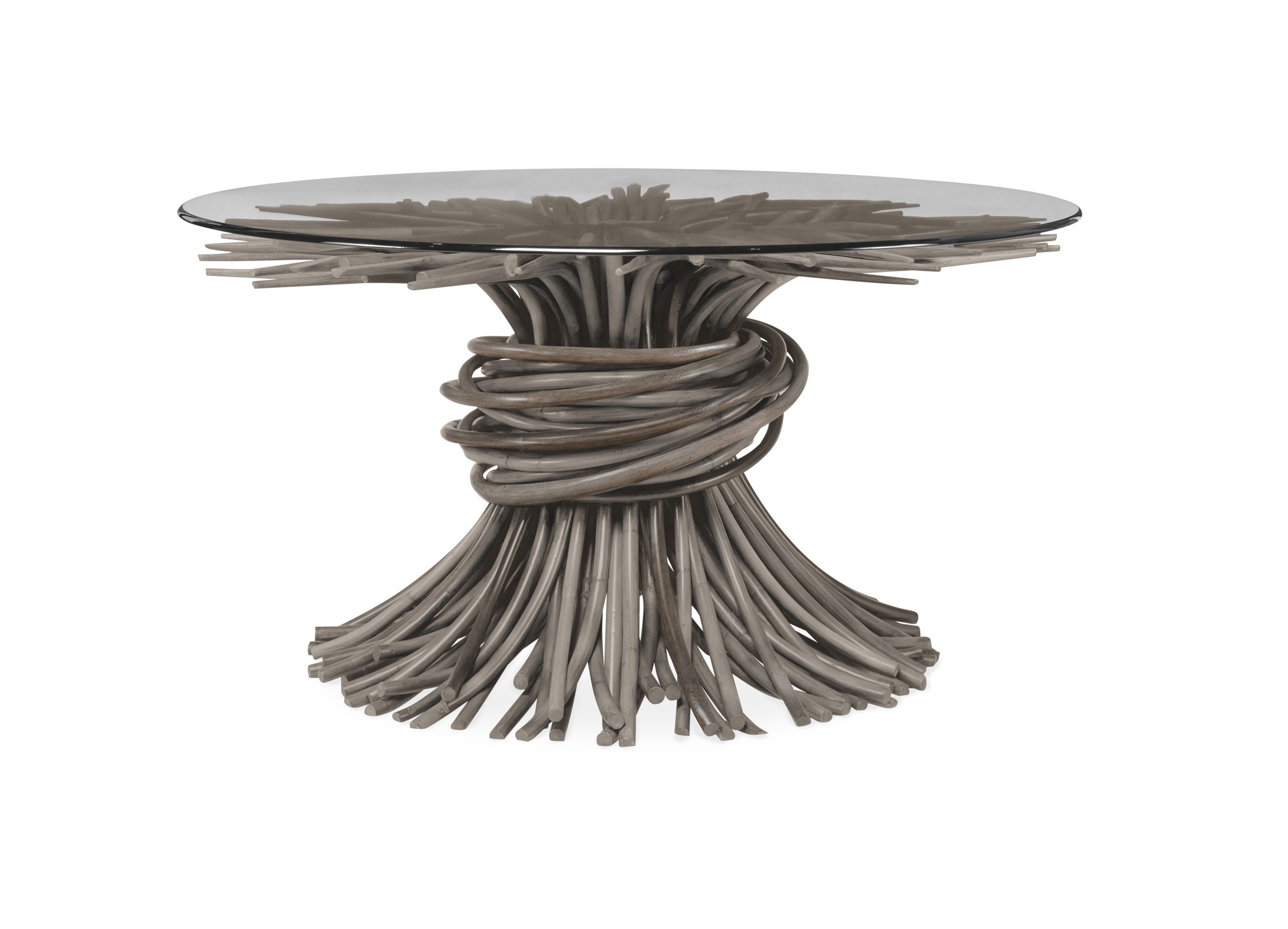 Knot Dining Table-Grey