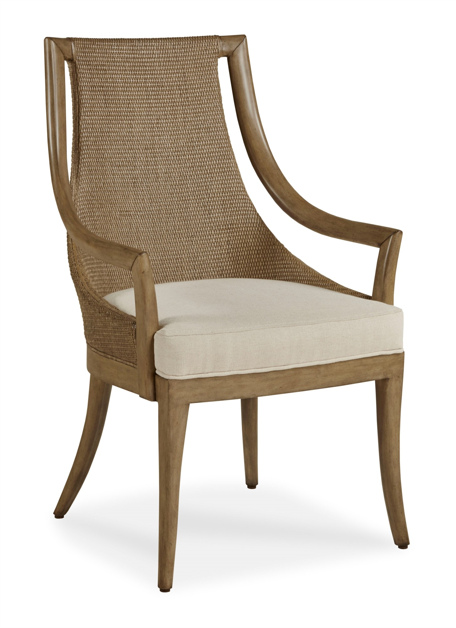 Paragon Dining Chair - Morel Grey/Flax
