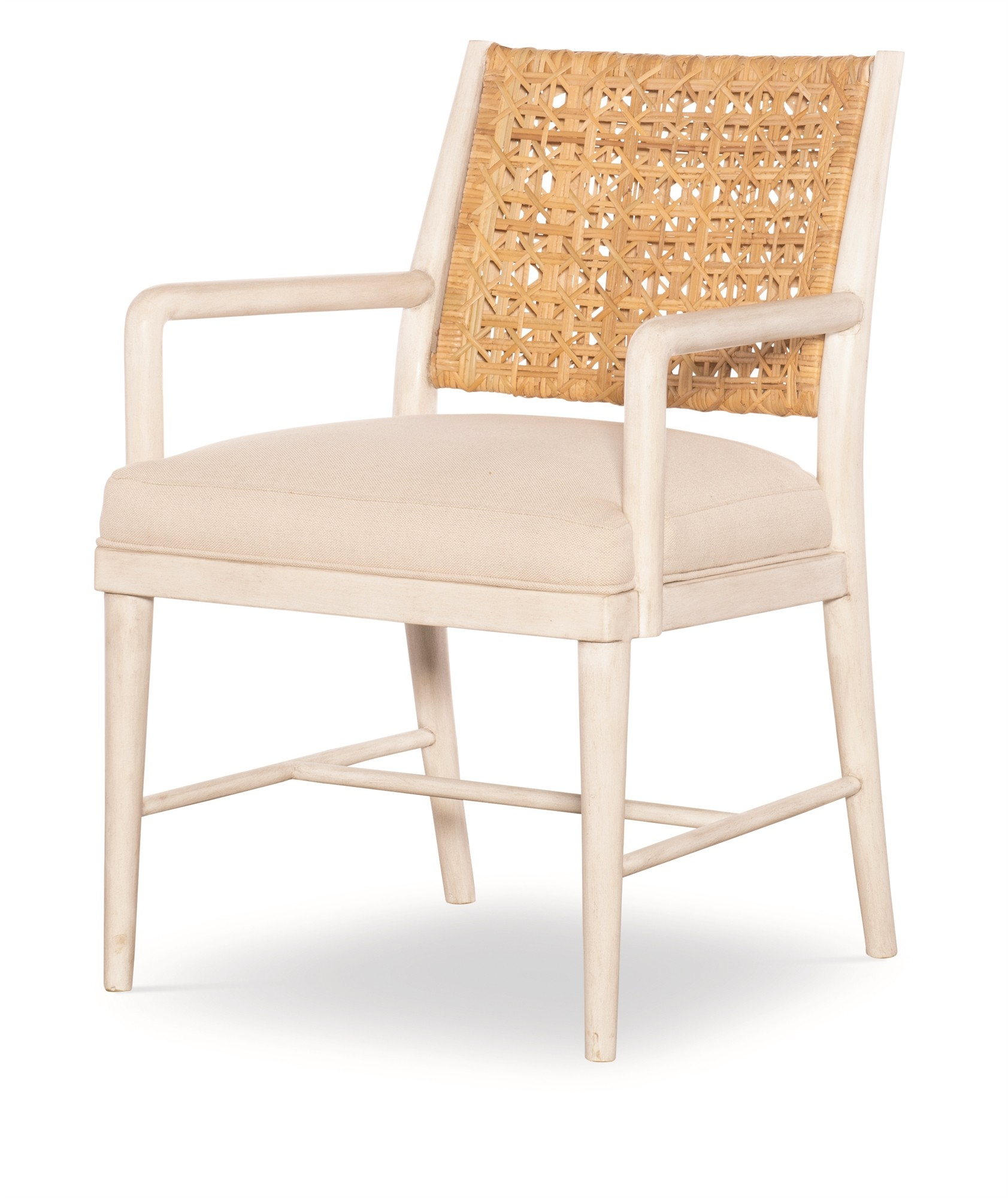 Naples Arm Chair - Natural/Flax