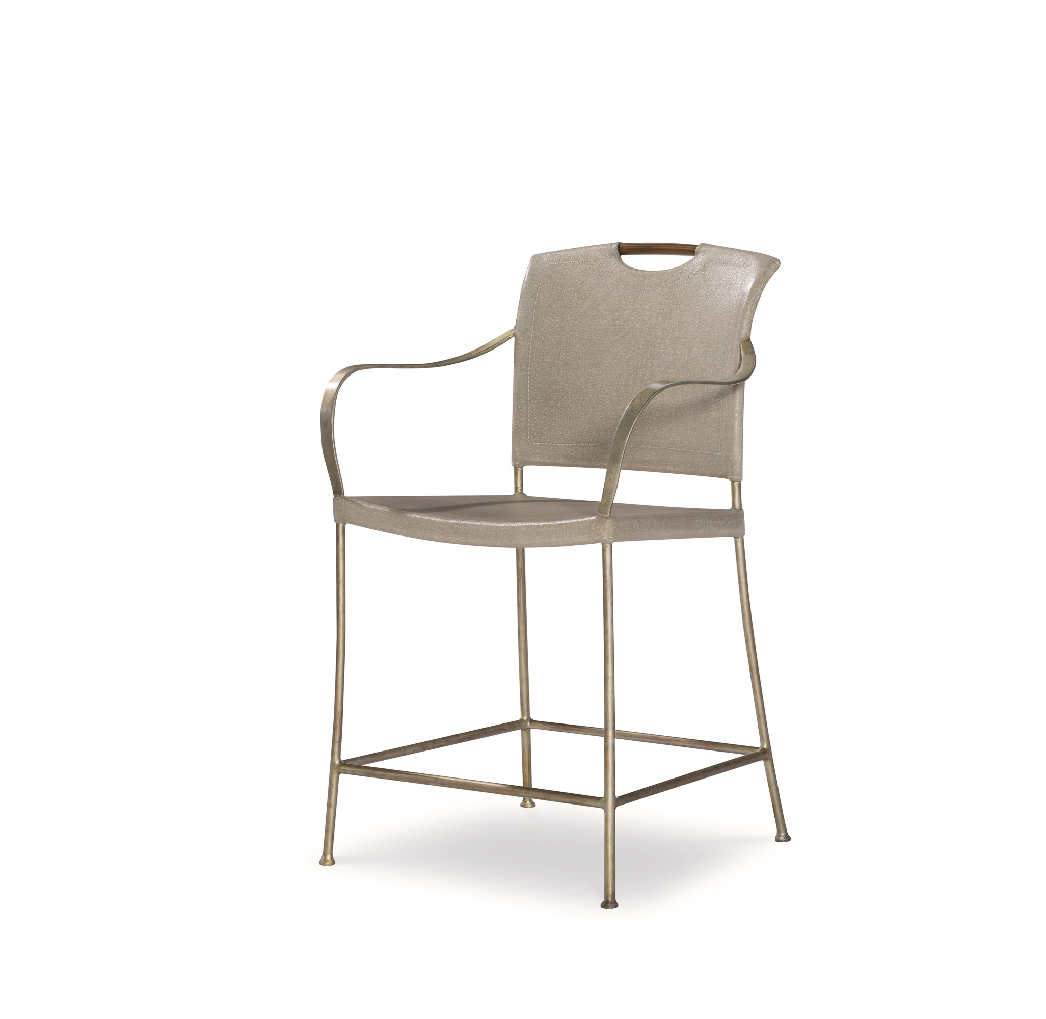 Canvas Counter Stool-Dove Grey (Cv-030-411, C411-030)