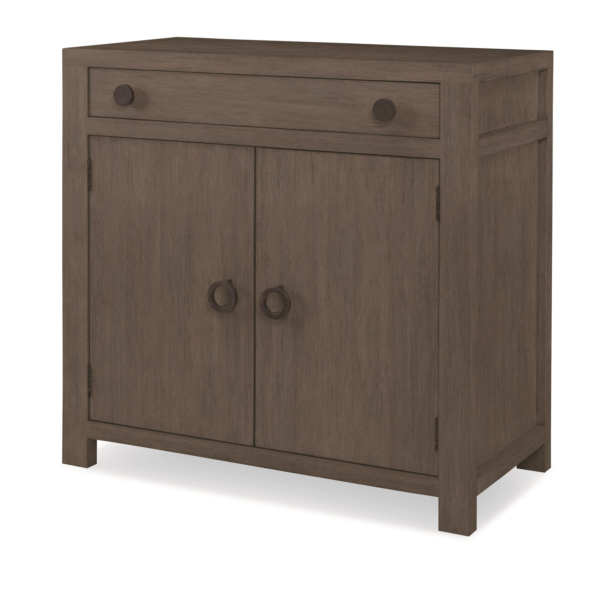 Chatham 2 Door Chest-Mink Grey