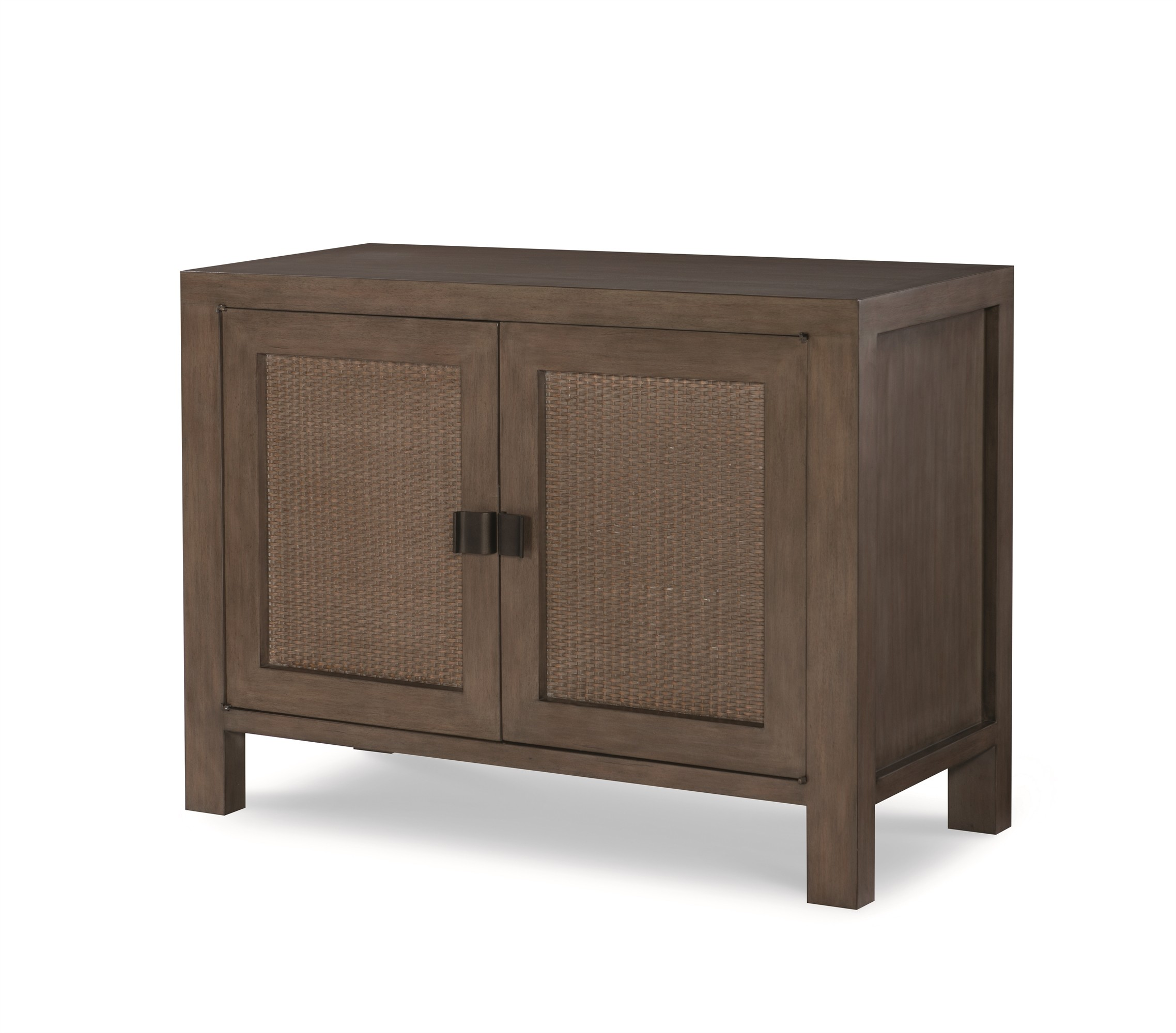 Mackinaw 2 Door Chest-Mink Grey
