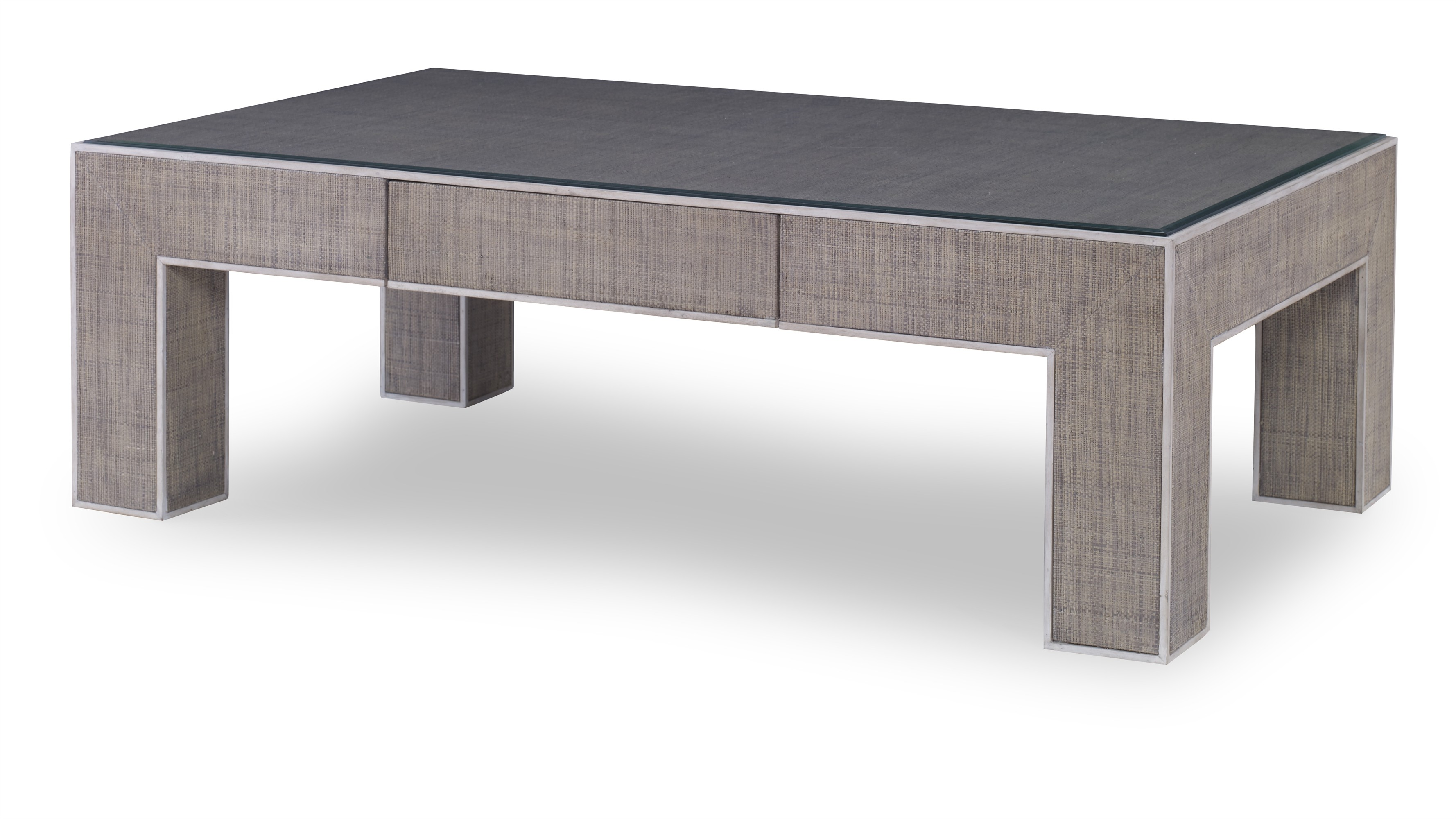 Newport 1 Drawer Coffee Table-French Grey/Peninsula (Pv-205-210-105)