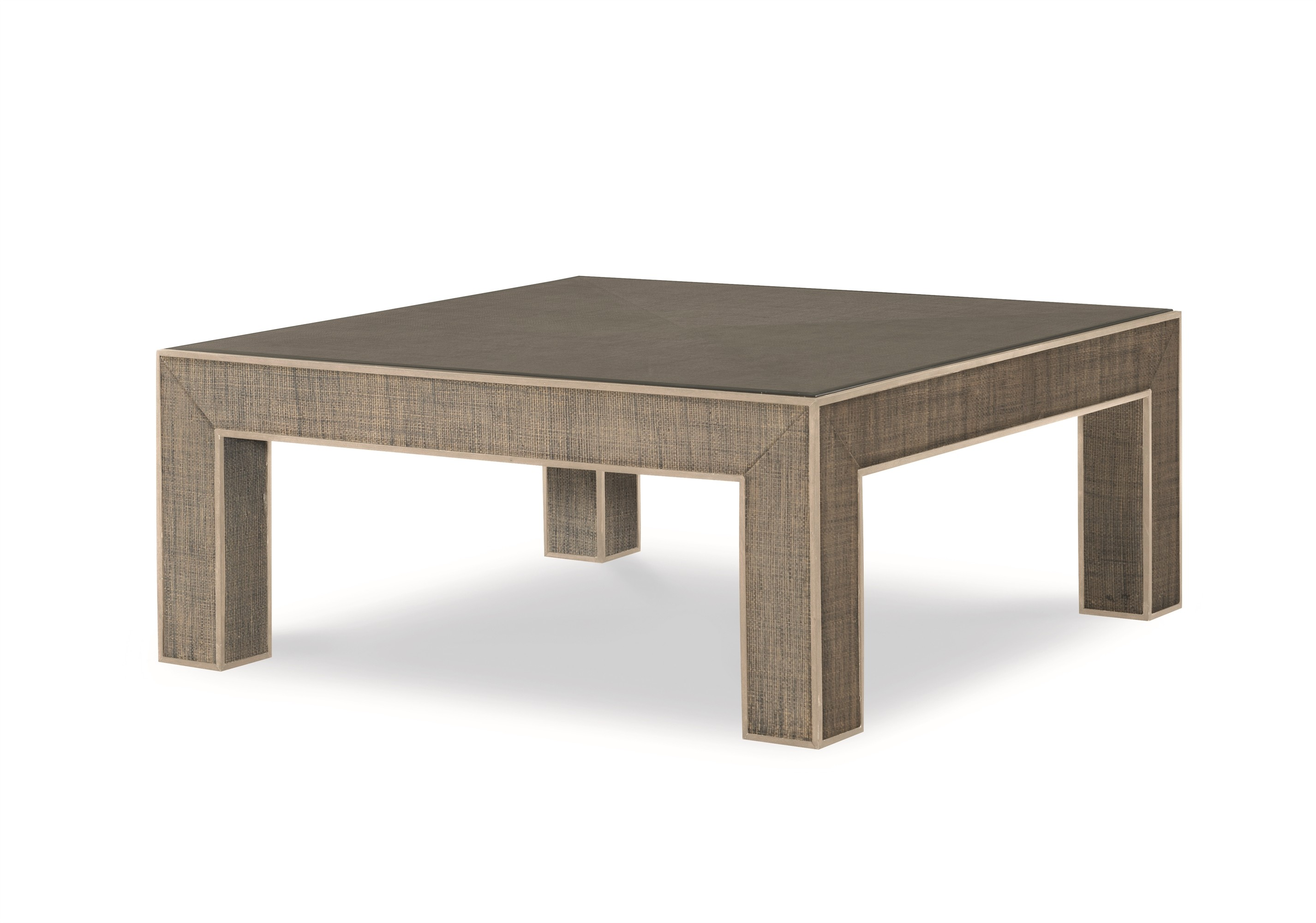 Newport Square Coffee Table-French Grey/Peninsula