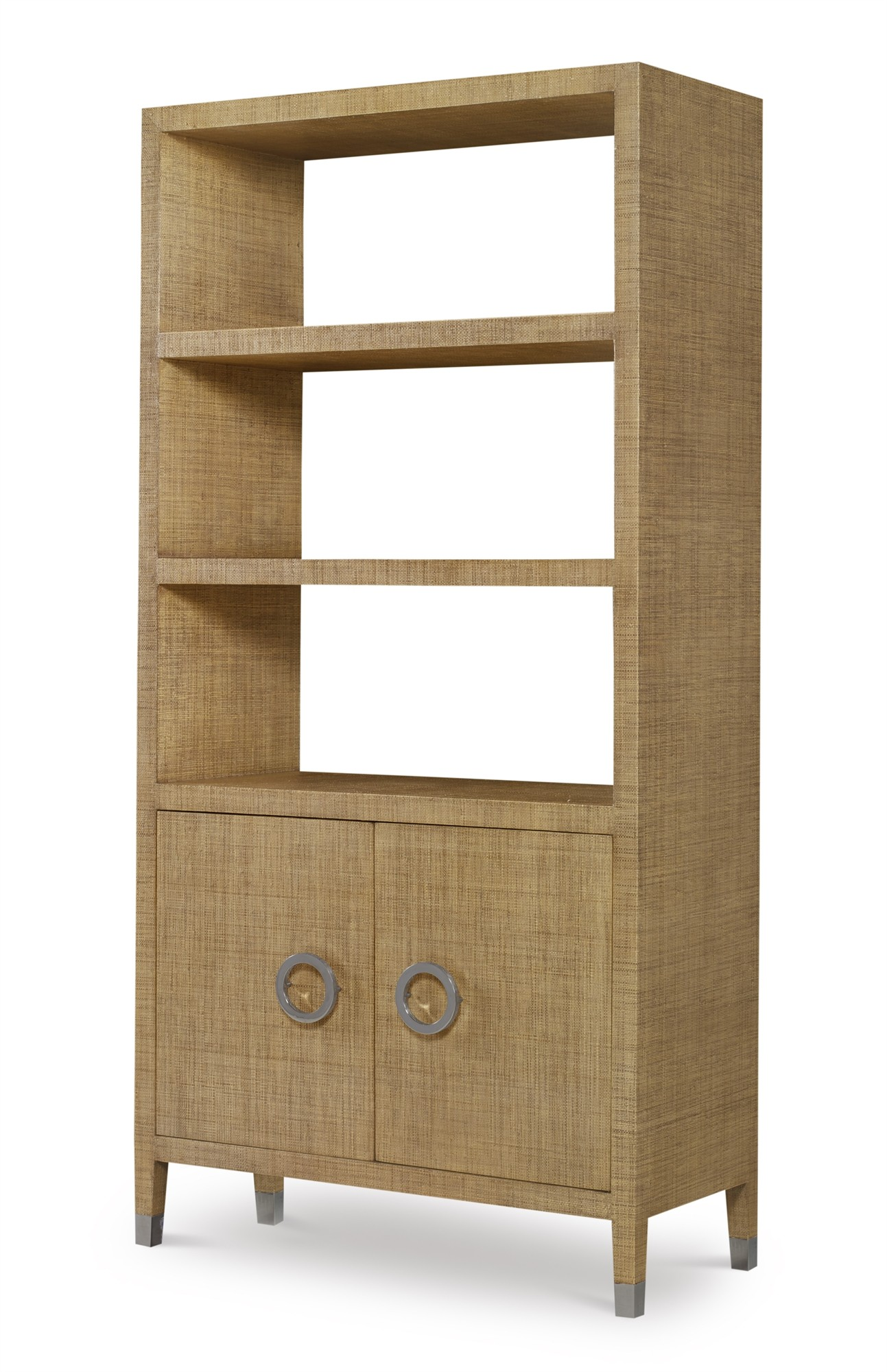 Charleston Bookcase-Sand  (Pv-400-209)