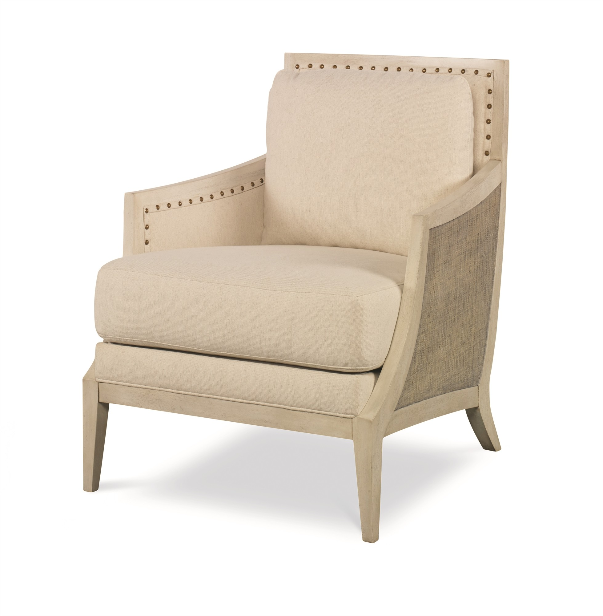 Chesapeake Lounge Chair-French Grey/Pn/Flax (Pv-052-210-105-07)