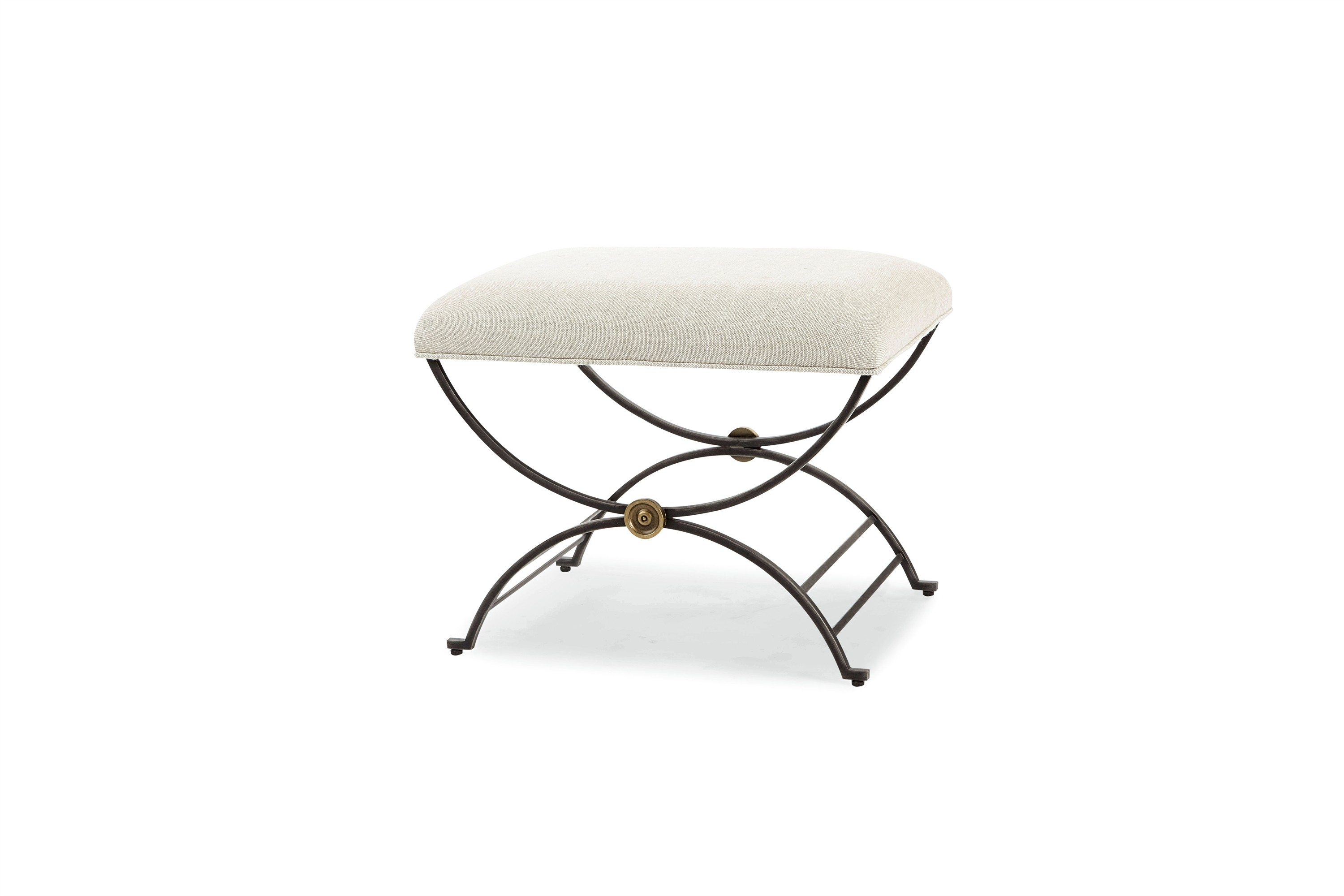 Niles Bench With Fabric Seat