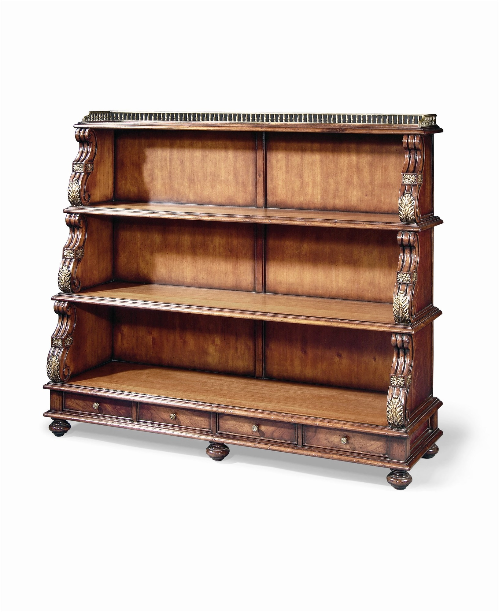 Large Regency Revival Bookshelf