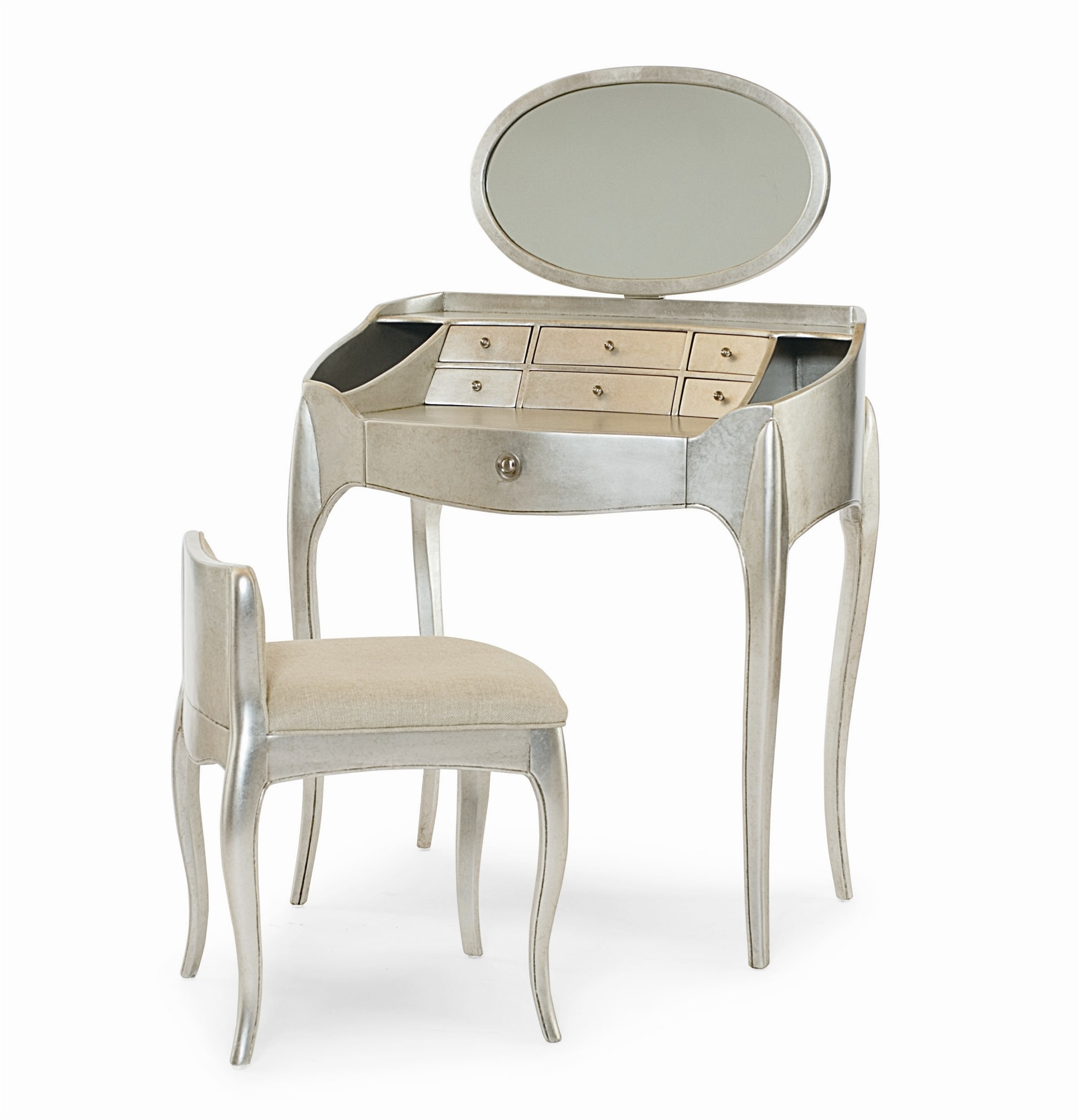 Pierre Vanity With Mirror & Vanity Chair