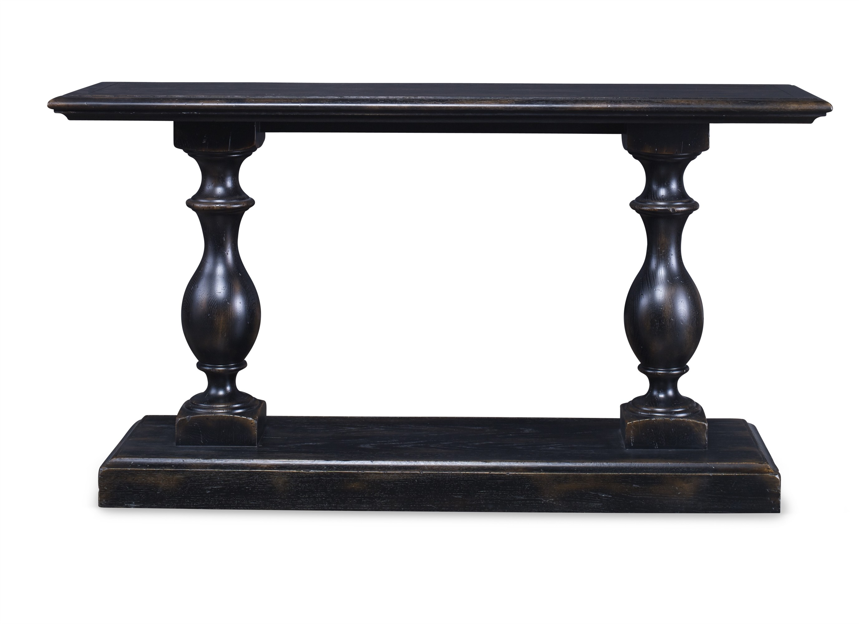 Grand Oak Console Table