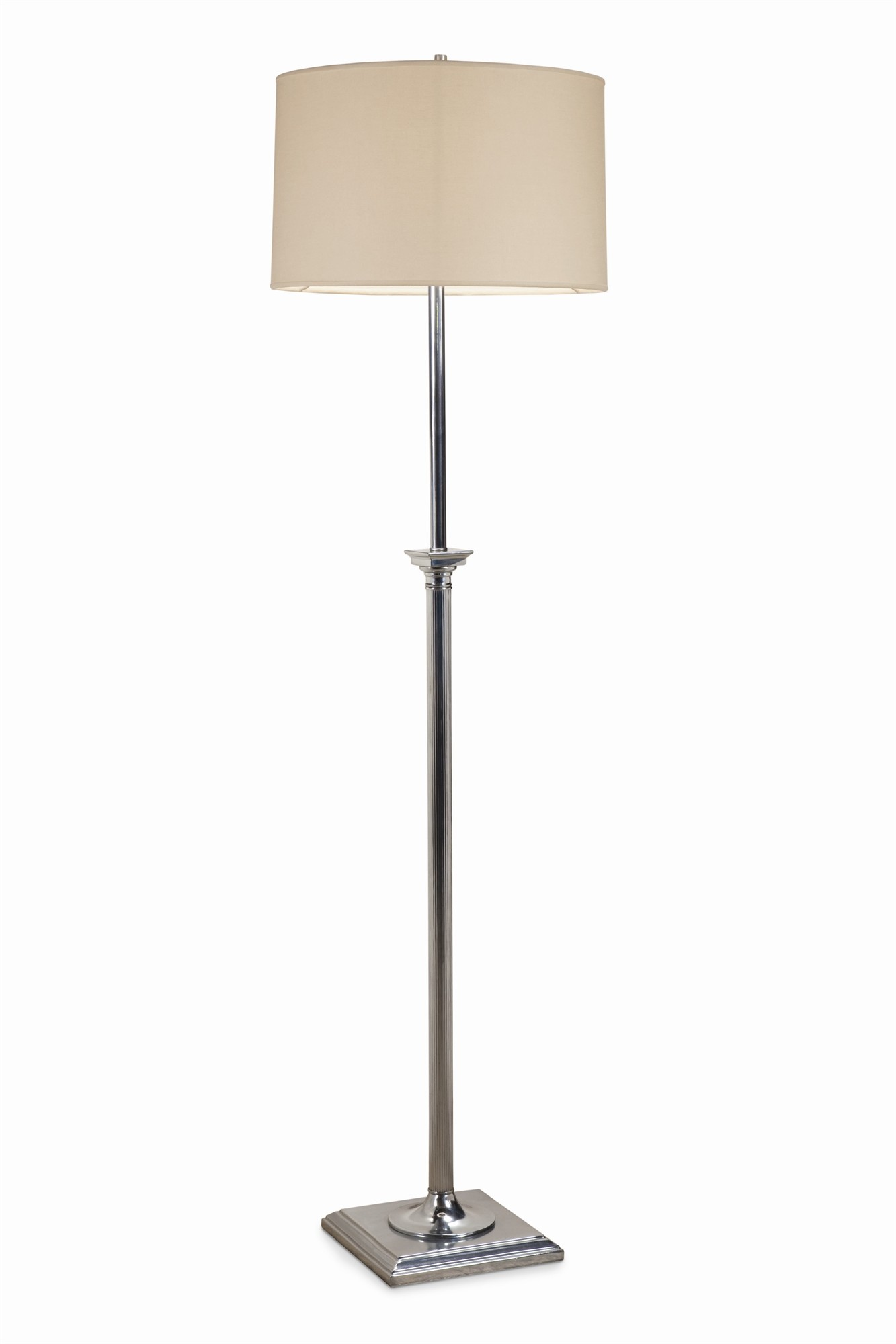 Regency Floor Lamp - Antique Zinc