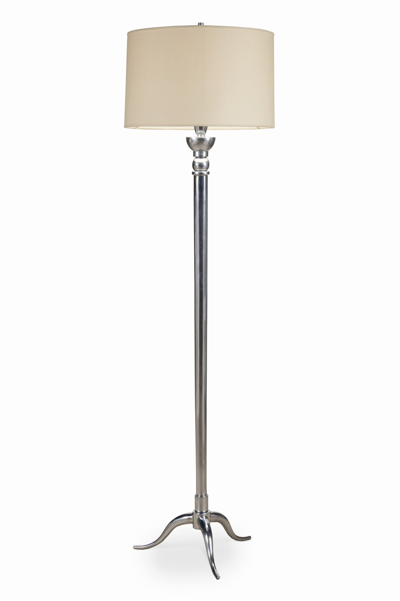 Marceau Floor Lamp - Antique Zinc