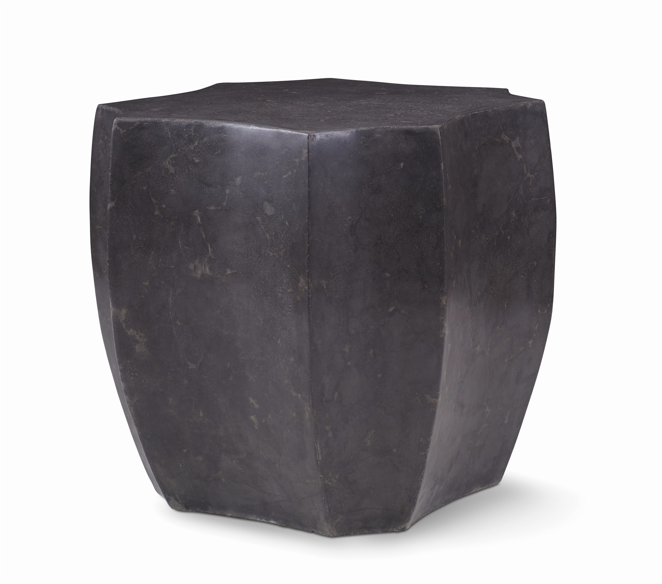 Obsidian Lamp Table