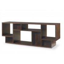 Geometric Entertainment Bookcase