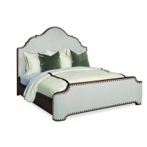 Casa Bella Upholstered Bed - King Size 6/6 - Sierra Finish
