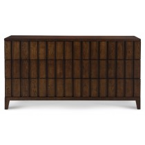 Casa Bella Louvered Dresser - Sierra Finish