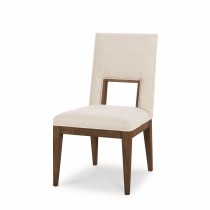 Casa Bella Upholstered Dining Side Chair - Sierra Finish