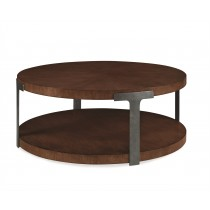 Casa Bella Sunburst Cocktail Table - Sierra Finish