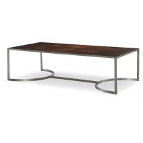 Casa Bella Starburst Cocktail Table - Sierra Finish