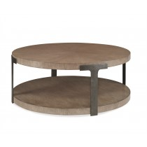 Casa Bella Sunburst Cocktail Table - Timber Gray Finish