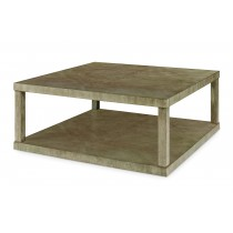 Casa Bella Reverse Diamond Cocktail Table - Timber Gray Finish