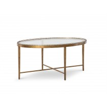 Logan Small Oval Cocktail Table