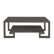 Greek Key Cocktail Table-Mink Grey (Bb-250-113)