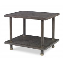 Biscayne Side Table-Mink Grey (Bb-261-113)