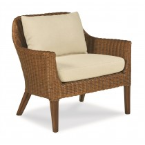 Wicker Accent Chair-Sand/Flax (Cg-051-403-07)