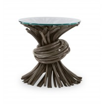 Knot End Table-Grey (Cg-235-416)