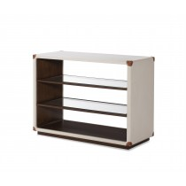 Canvas Open Bookcase-Ivory (Cv-930-408-100, C408-930)