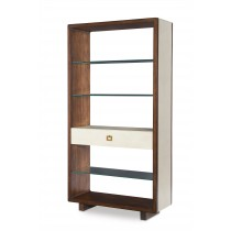 Canvas Open Bookcase-Ivory (Cv-940-408-100, C408-940)