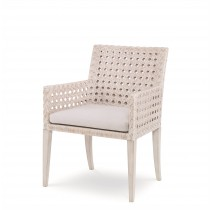 Litchfield Arm Chair-Peninsula/Flax