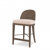 Tybee Counter Stool-Mink Grey/Flax