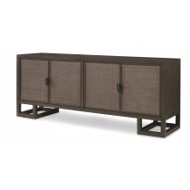 Mackinaw 4 Door Credenza-Mink Grey (Lw-420-113, C113-420)