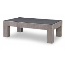 Newport 1 Drawer Coffee Table-French Grey/Peninsula