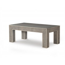 Newport Rectangular Coffee Table-French Grey/Peninsula