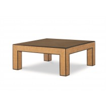 Newport Square Coffee Table-Sand/Light Brown