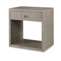 Charleston Large Nightstand (W/Glass)-French Grey (Pv-351-210)